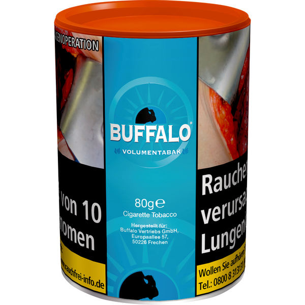 Buffalo Volumentabak Blue 75g