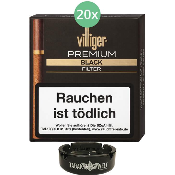Villiger Premium Black Filter 20 X 20 Stück